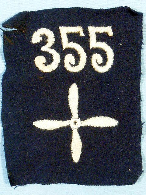 WWI 355th Air Service Enlisted Squadron Patch