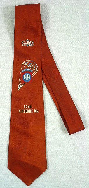 82nd Airborne Division Neck Tie