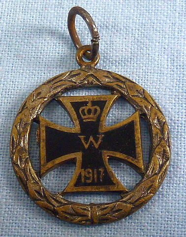 1917 Iron Cross Pendant