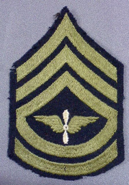 Army Air Corps Technical Sergeant Chevron