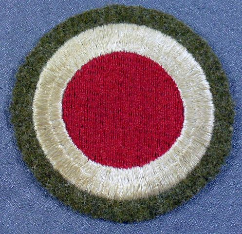 Pre-WWII 37th Division Patch with OD Wool Border