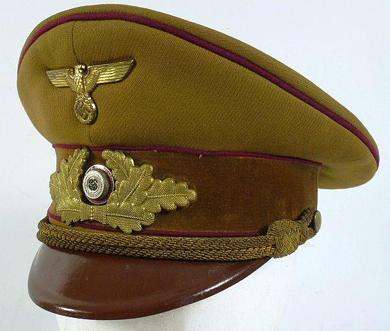 NSDAP Gau Level Visor Cap