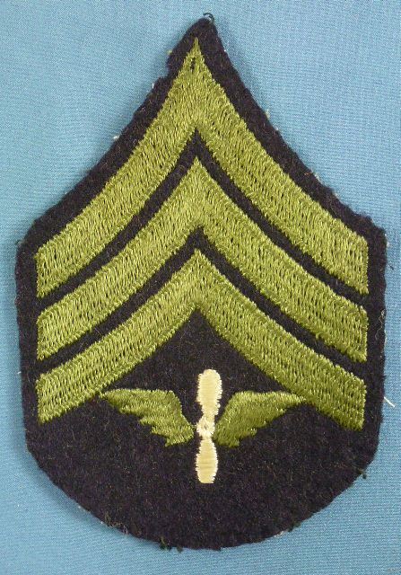 Army Air Corps Sergeant Wool Chevron