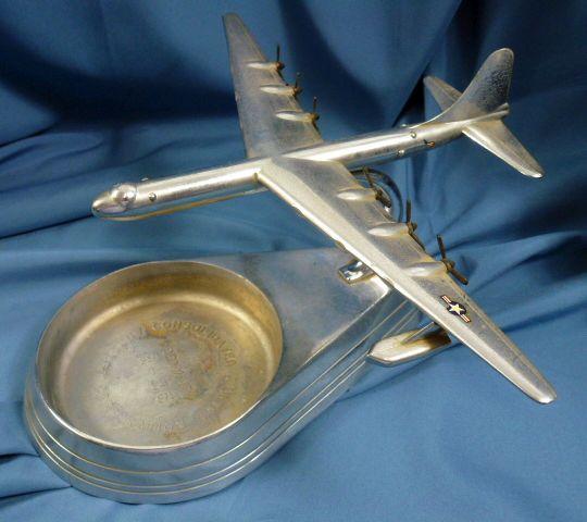 B-36 Peacemaker Bomber Manufacturer Model Ashtray