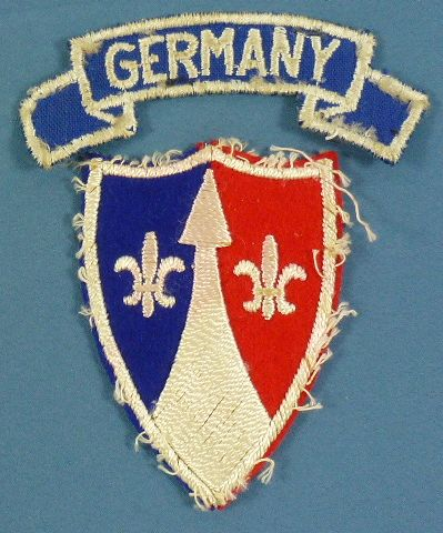 Post War Theater Made Europe Communications Zone Patch