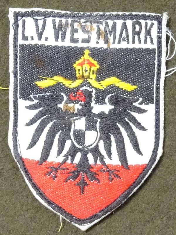 Stahlhelm L.V. Westmark Arm Shield