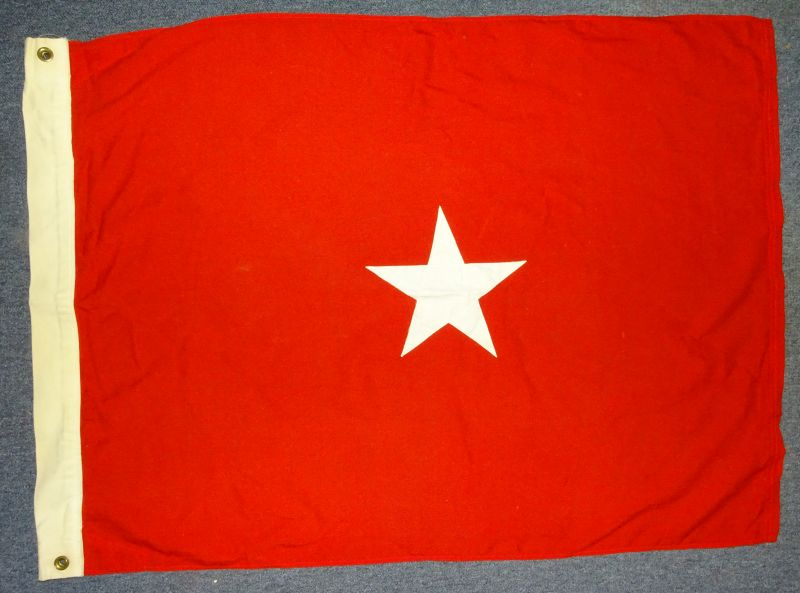US Army Brigadier General Wool Flag