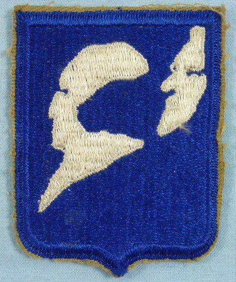 Post WWII 196th Regimental Combat Team Patch