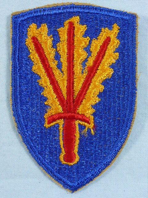 Post WWII 166th Regimental Combat Team Patch