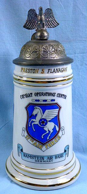17th Air Force Combat Operations Center Souvenir Stein