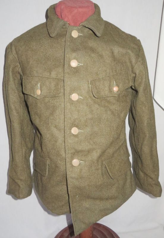WWII Japanese Army Enlisted Wool Tunic