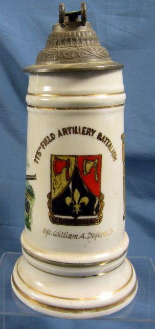 1954 775th Field Artillery Battalion Stein