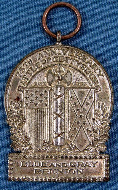 1938 Battle of Gettysburg 75th Anniversary Medal