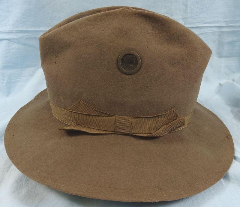 Model 1899 U.S. Army Screen Vent Campaign Hat