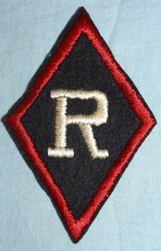 WWI Liffel Le Grand Railhead Station Patch