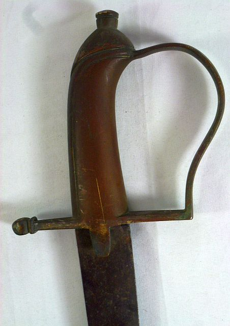 1855 Continental Brass Hilt Infantry Sword