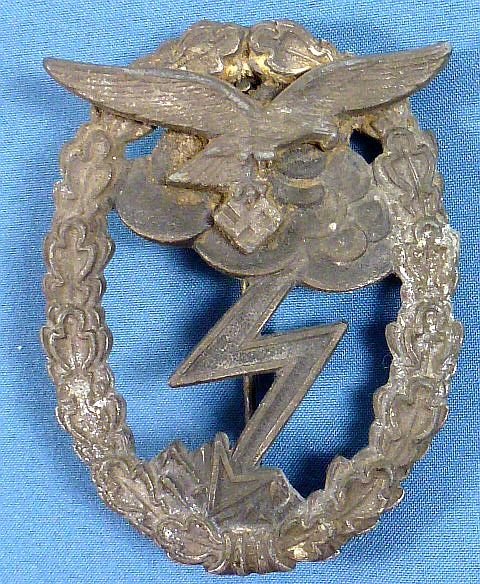 Luftwaffe Ground Assault Combat Badge by Gustav Brehmer