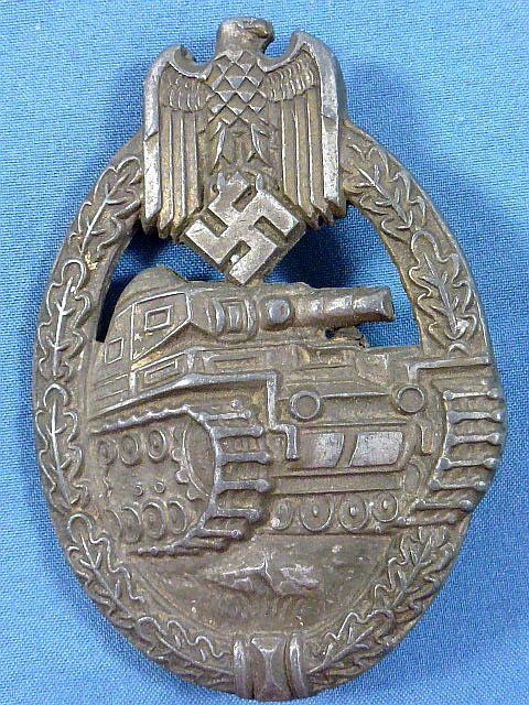 Bronze Panzer Assault Badge by EWE