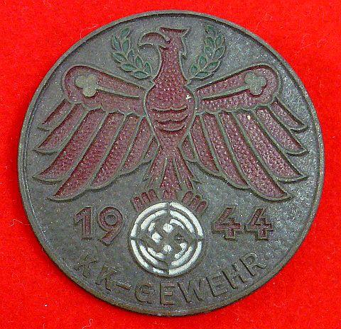 1944 Tirol KK Gewehr Badge
