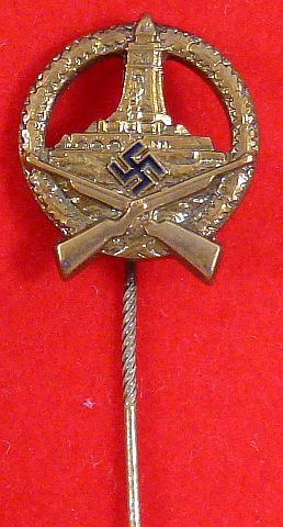 DRKB Member Bronze Shooting Award Stickpin