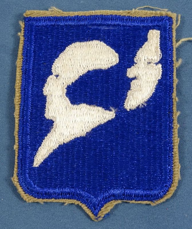 196th Regimental Combat Team Patch