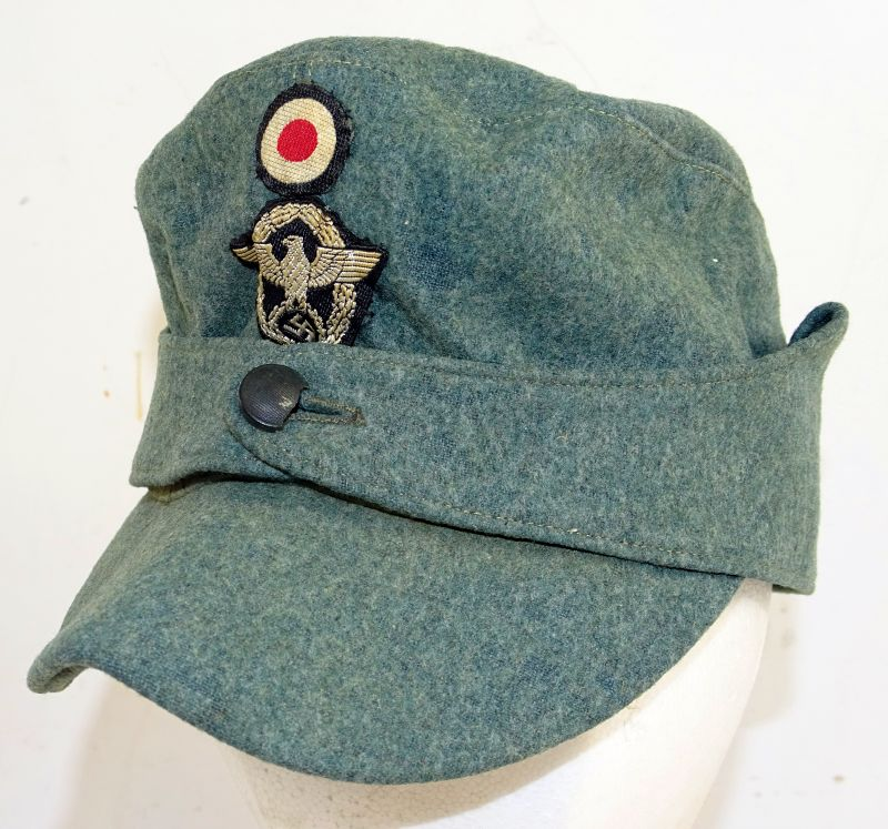 WWII Third Reich Police NCO M43 Field Cap
