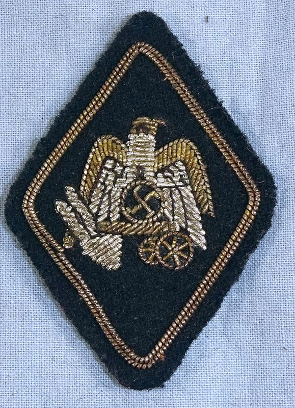 Third Reich Office for German Nationhood Bullion Badge