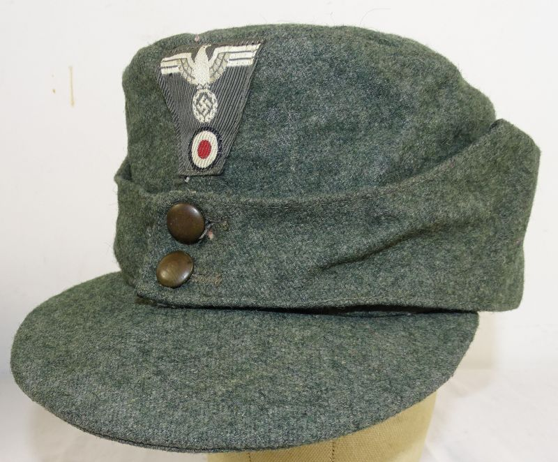 Near Mint WWII Italian Made German M43 Field Cap