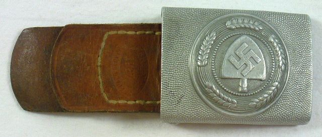 RAD Labor Service Buckle by Brehmer with Leather Tab