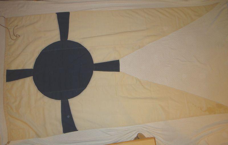WWII Navigation Control Commander Flag