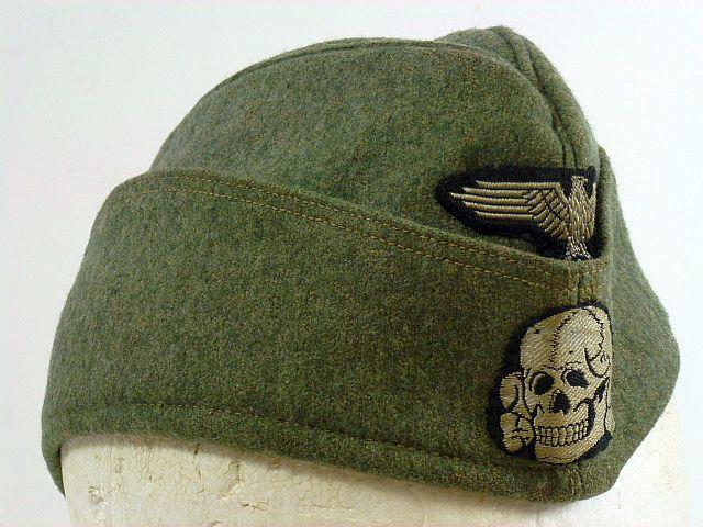 Waffen SS EM/NCO M40 Overseas Cap / Beavers Book Pg 132