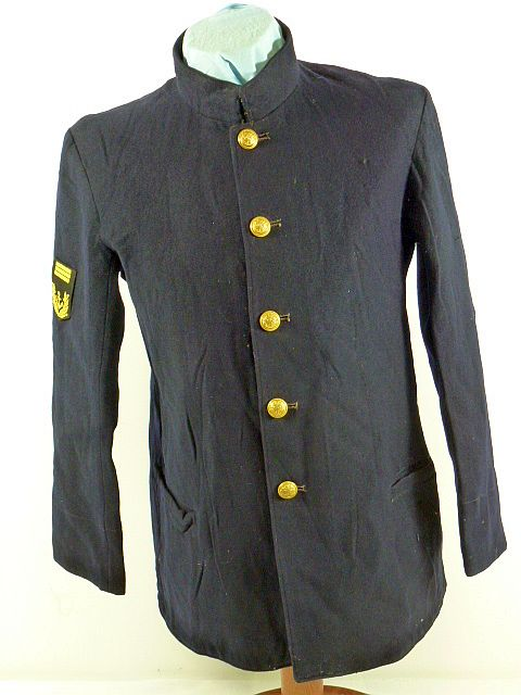 Japanese Navy Chief Petty Officer Blue Wool Tunic