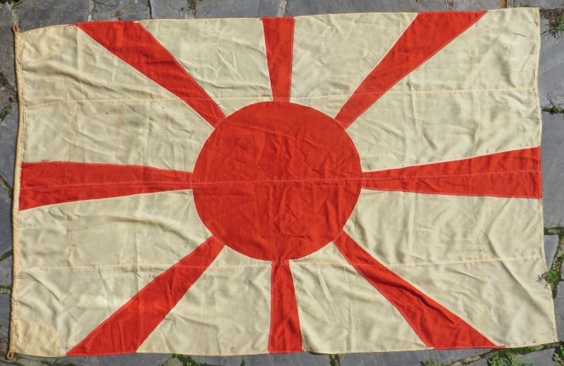 Large WWII Japanese Admiral's Ship Flag
