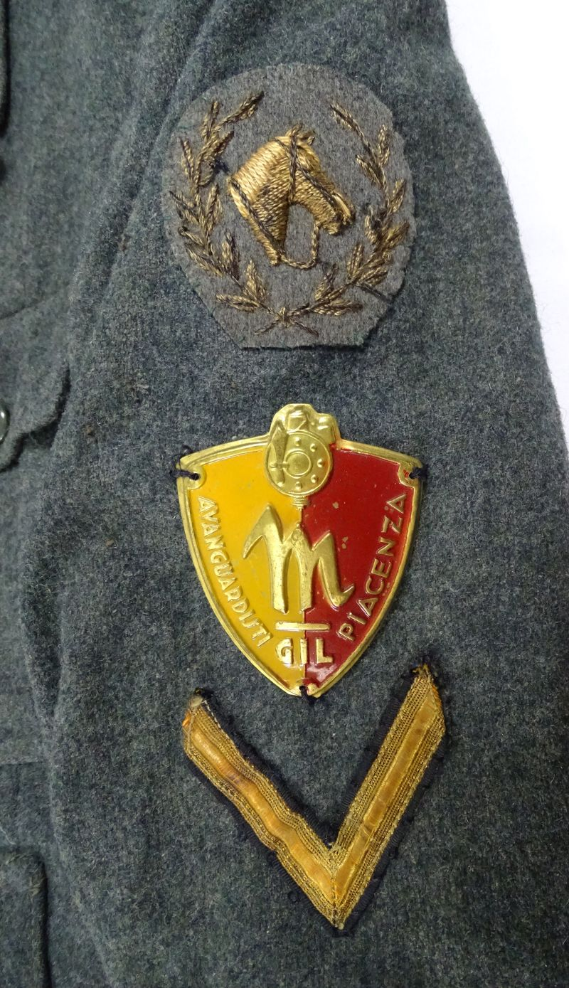 Wwii Italian Gil Fascist Youth Uniform Tunic Griffin