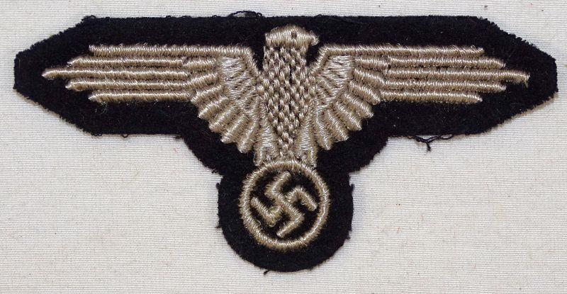 WWII Waffen SS EM / NCO Sleeve Eagle