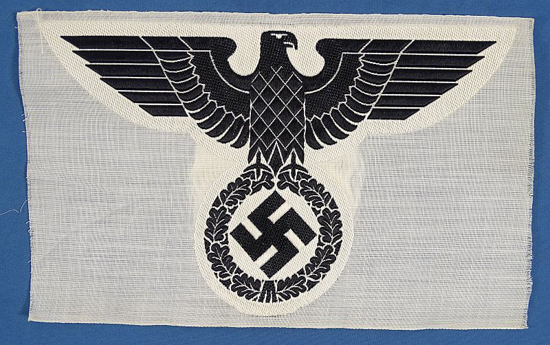 NSDAP Nazi Party Sport Shirt Eagle Insignia with RZM Tag