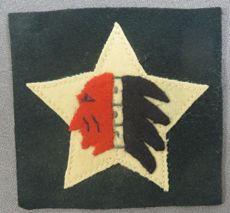WWI 2nd Division 5th Marines Supply Co Patch