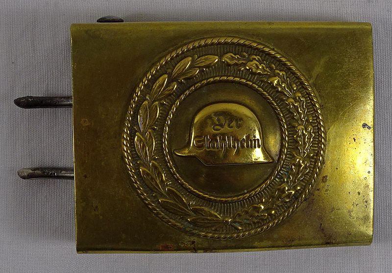 Der Stahlhelm Veterans Organization Brass Buckle